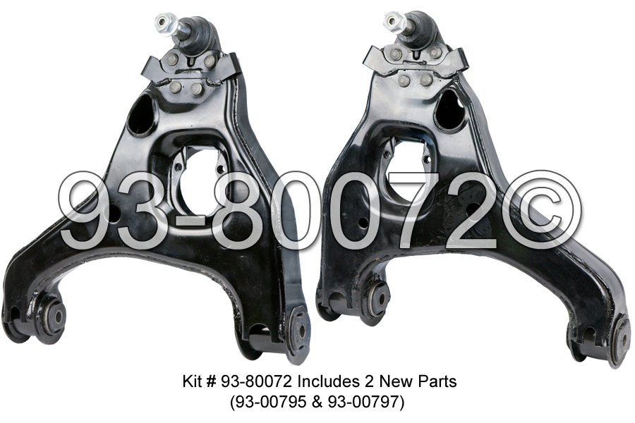 2000 Chevy Avalanche For Sale Chevy Silverado GMC Sierra 1500 2WD 00 07 New Front Lower Control Arm