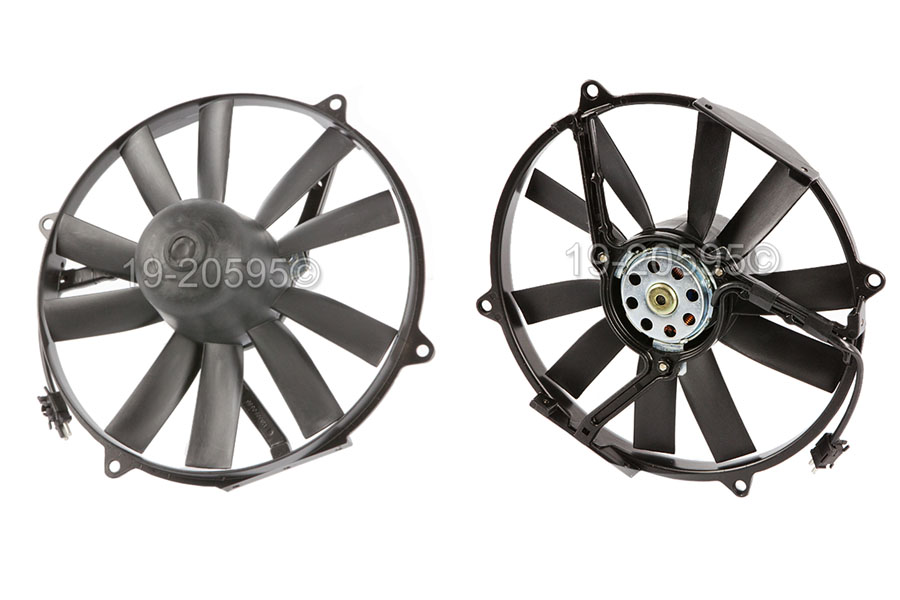 Mercedes_Benz 420SEL                         Cooling Fan AssemblyCooling Fan Assembly