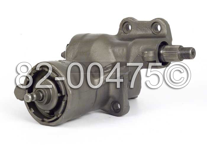 Plymouth Barracuda                      Power Steering Gear Box