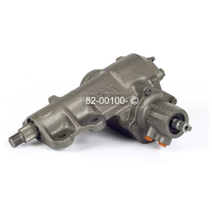 Ford Bronco                         Power Steering Gear Box