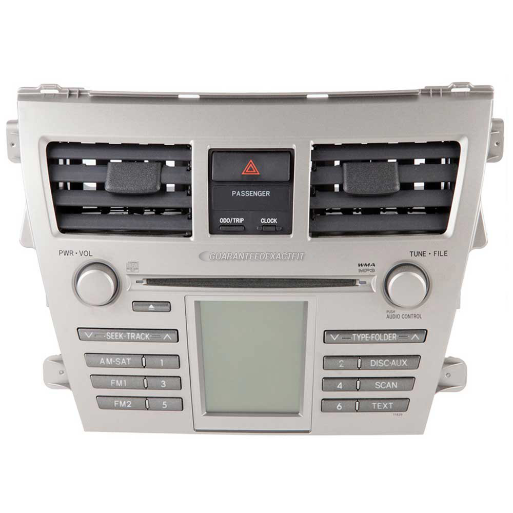 Toyota Yaris                          Radio or CD PlayerRadio or CD Player