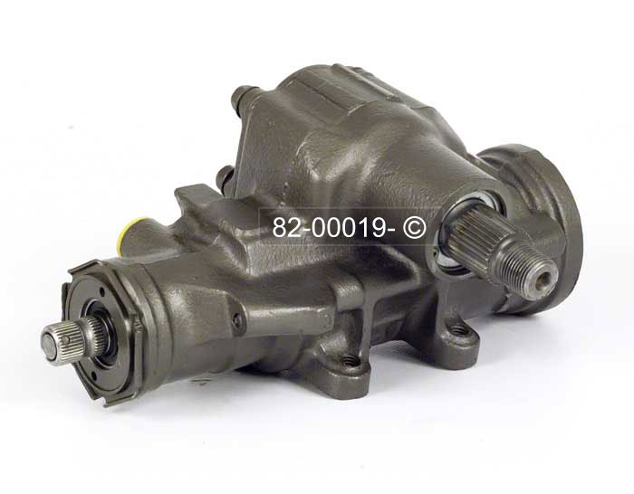 Jeep CJ Models Power Steering Gear Box