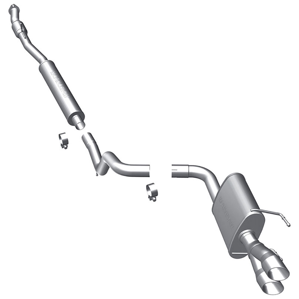 Fiat 500                            Cat Back Performance Exhaust