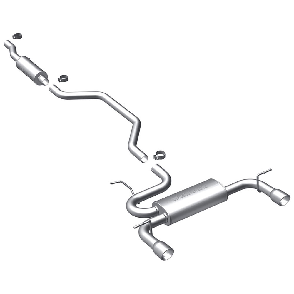 Chrysler 200                            Cat Back Performance ExhaustCat Back Performance Exhaust