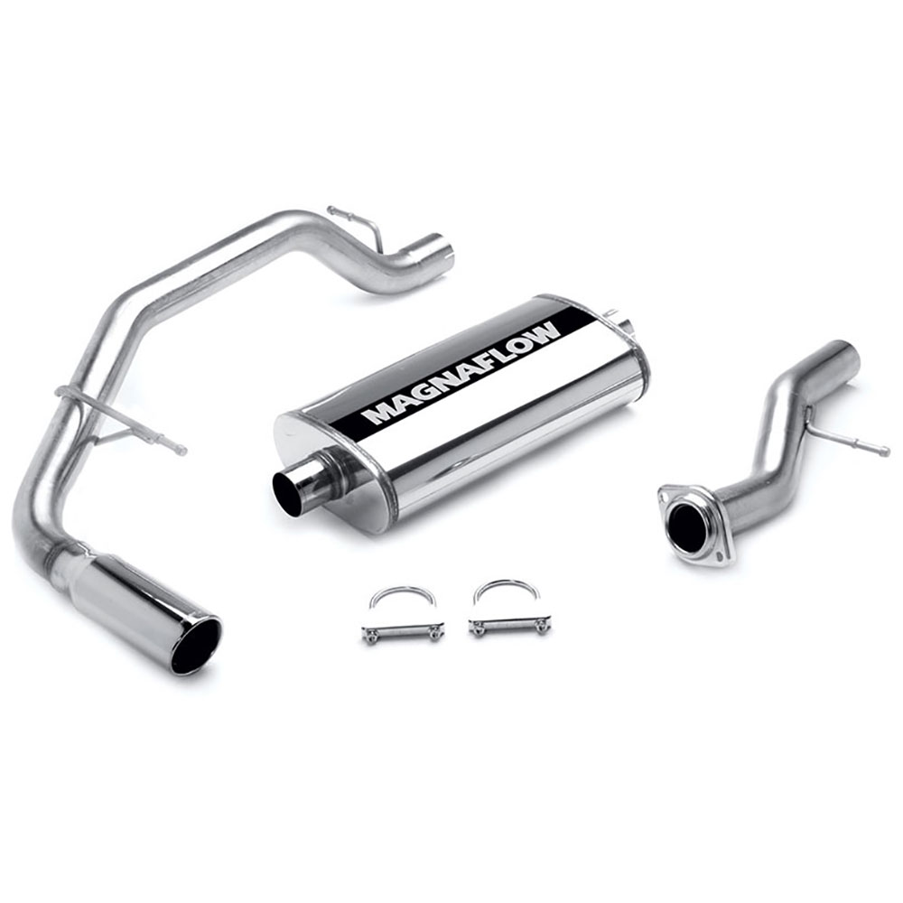 Chevrolet Tahoe                          Cat Back Performance ExhaustCat Back Performance Exhaust