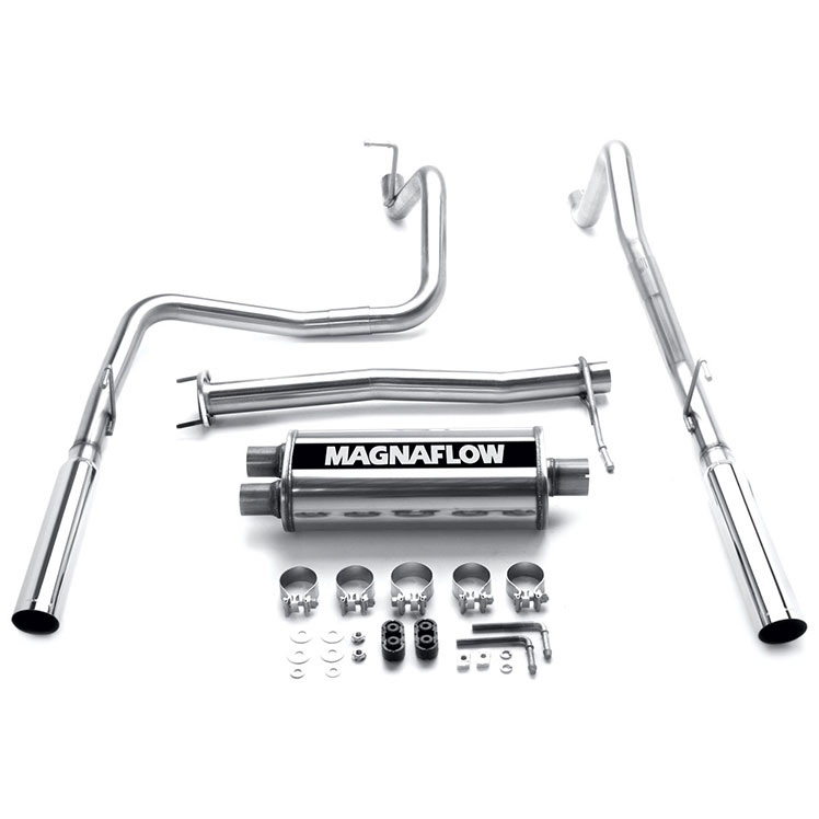 Isuzu I-Series Truck                 Cat Back Performance ExhaustCat Back Performance Exhaust