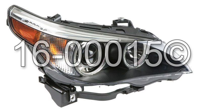 BMW 545                            Headlight AssemblyHeadlight Assembly