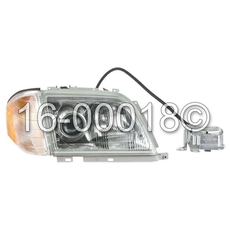 Mercedes_Benz SL320                          Headlight AssemblyHeadlight Assembly