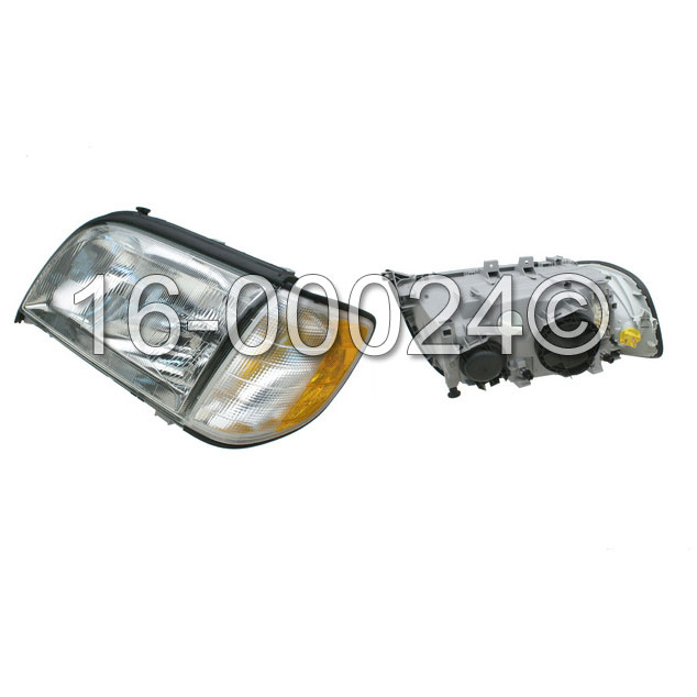 Mercedes_Benz S500                           Headlight Assembly