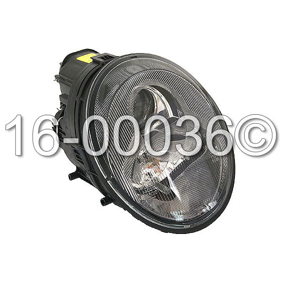 Porsche 911                            Headlight AssemblyHeadlight Assembly