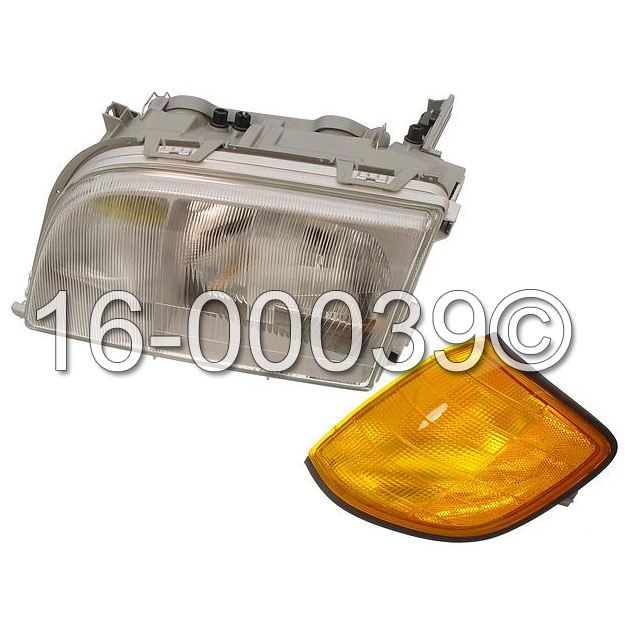 Mercedes_Benz S320                           Headlight AssemblyHeadlight Assembly
