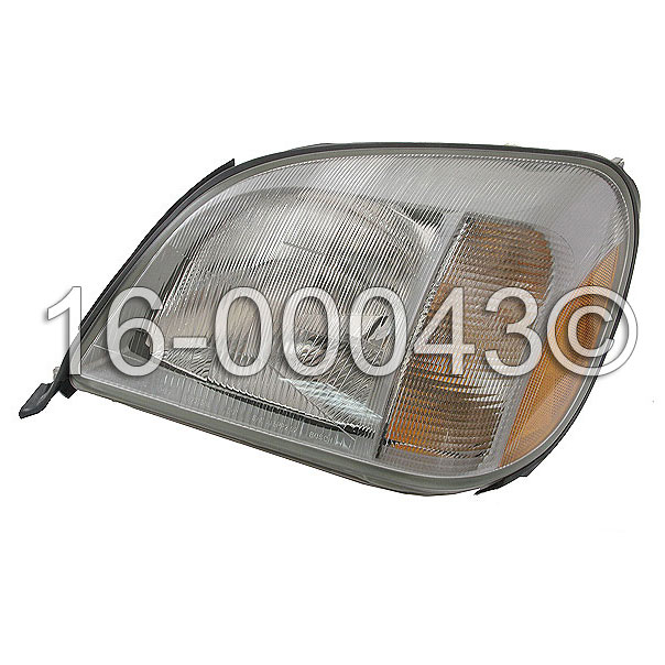 Mercedes_Benz 600SEC                         Headlight AssemblyHeadlight Assembly