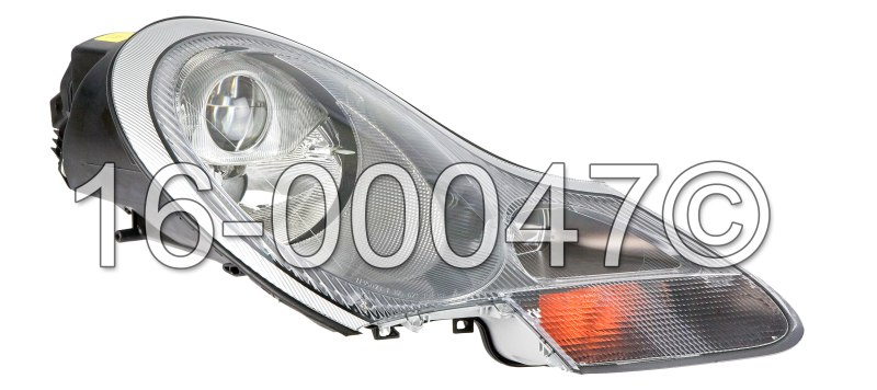 Porsche Boxster                        Headlight AssemblyHeadlight Assembly