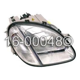 Mercedes_Benz SLK230                         Headlight AssemblyHeadlight Assembly