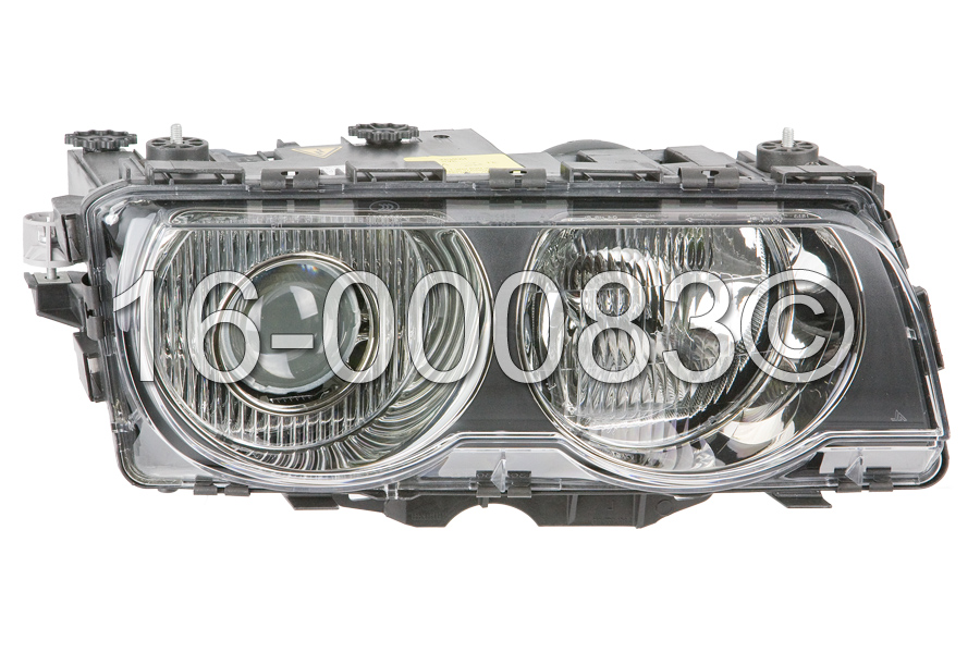 BMW 740                            Headlight AssemblyHeadlight Assembly