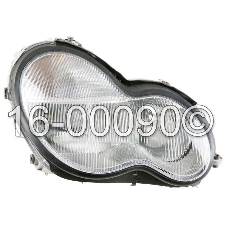 Mercedes_Benz C240                           Headlight AssemblyHeadlight Assembly