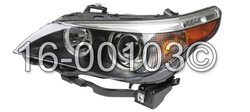 BMW 550                            Headlight AssemblyHeadlight Assembly