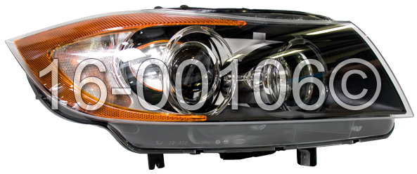 BMW 335i                           Headlight Assembly