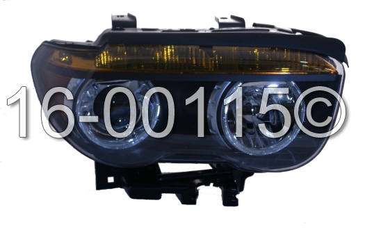 2003 BMW 745 Headlight Assembly