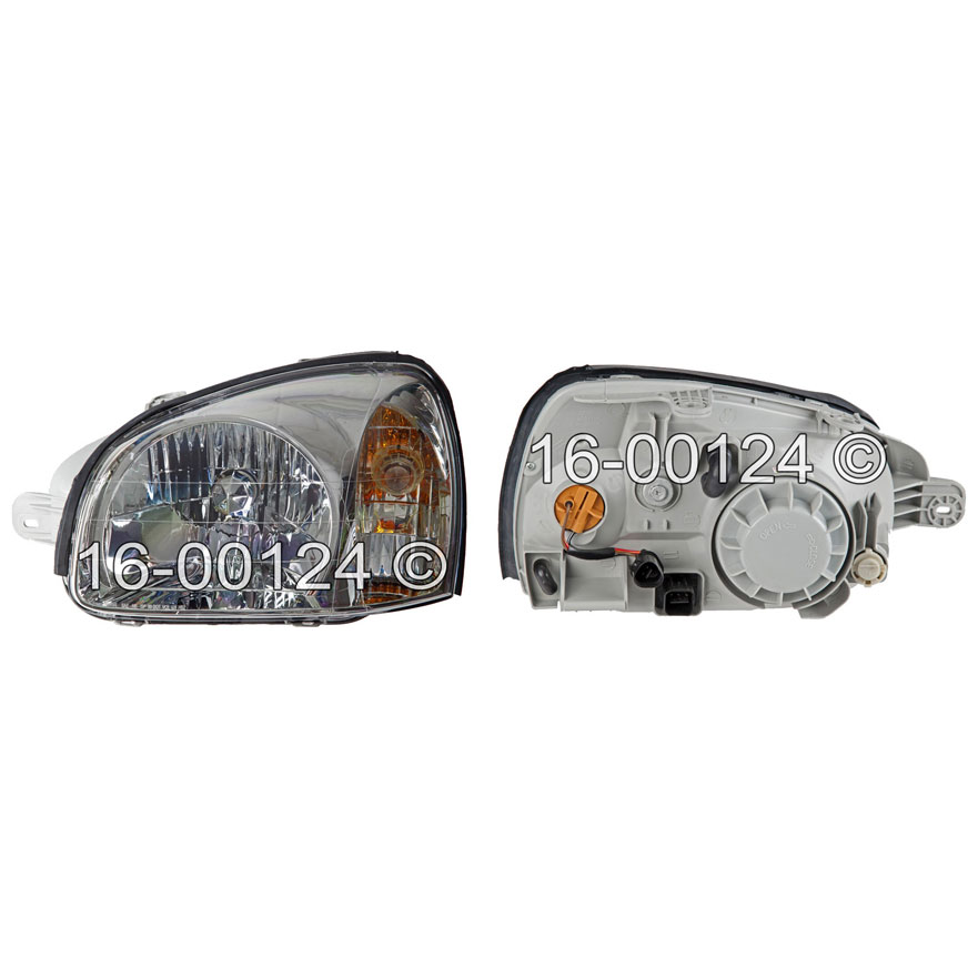 Hyundai Santa Fe                       Headlight Assembly