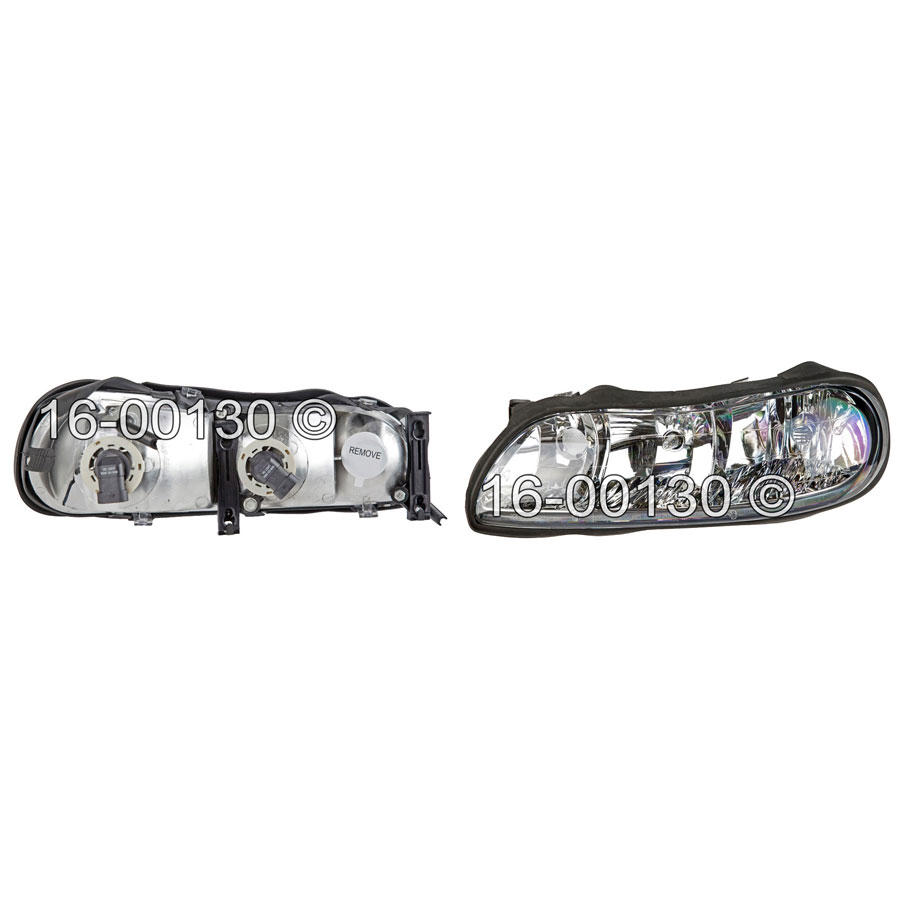 Chevrolet Malibu                         Headlight Assembly