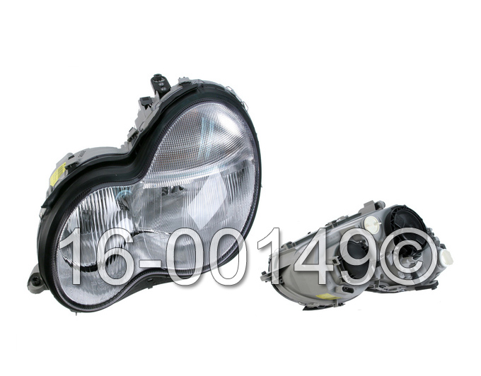 Mercedes_Benz C230                           Headlight AssemblyHeadlight Assembly
