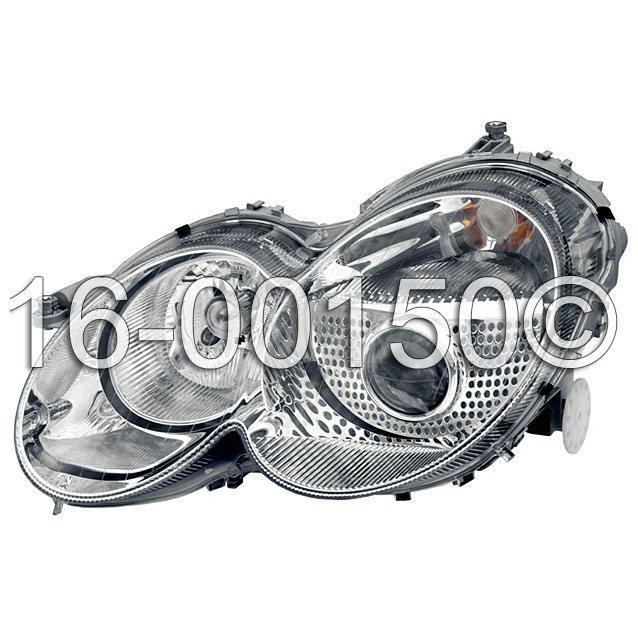 Mercedes benz sl500 headlight assembly left driver side for Mercedes benz sl500 parts