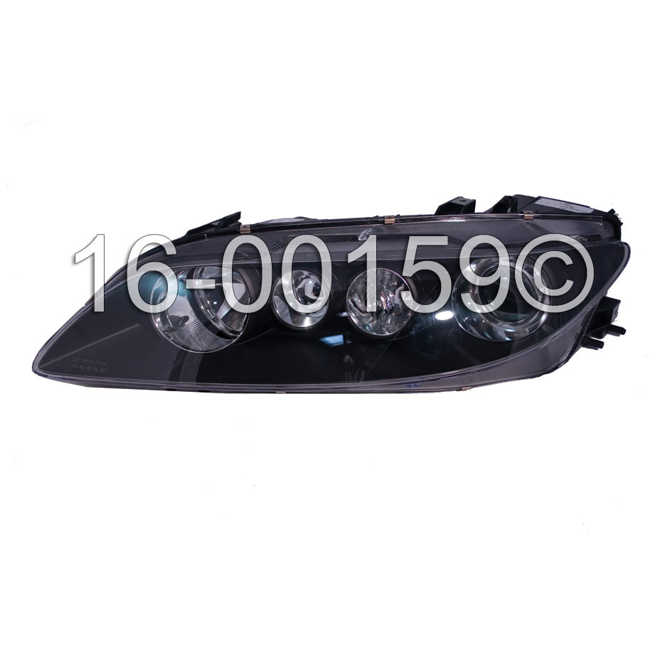Mazda 6                              Headlight Assembly