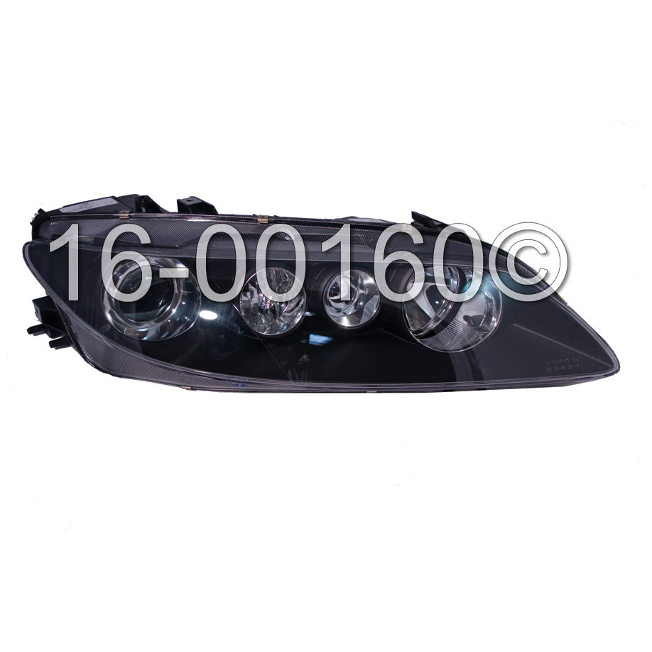 Mazda 6                              Headlight AssemblyHeadlight Assembly