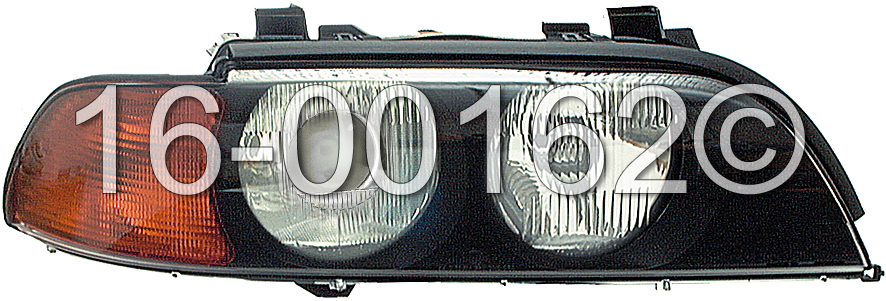 BMW 540                            Headlight AssemblyHeadlight Assembly