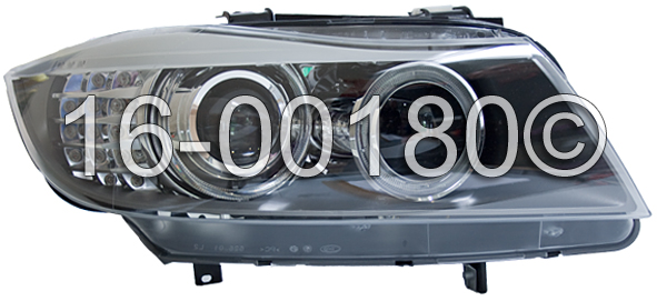 BMW 335xi                          Headlight AssemblyHeadlight Assembly