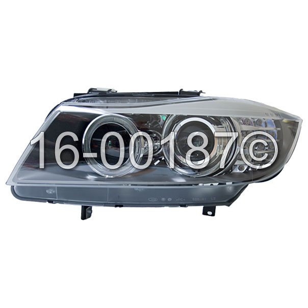 BMW 335d                           Headlight Assembly