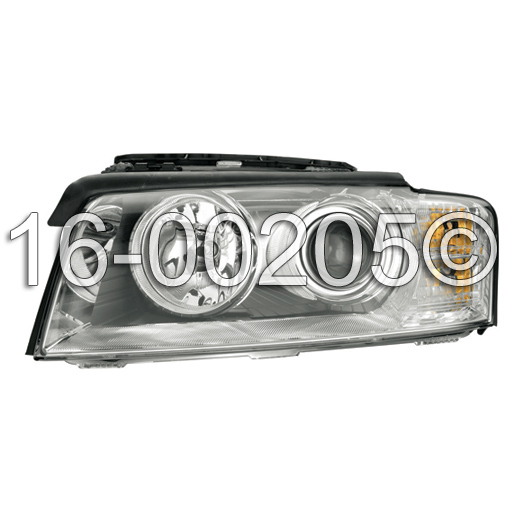 Audi A8                             Headlight AssemblyHeadlight Assembly