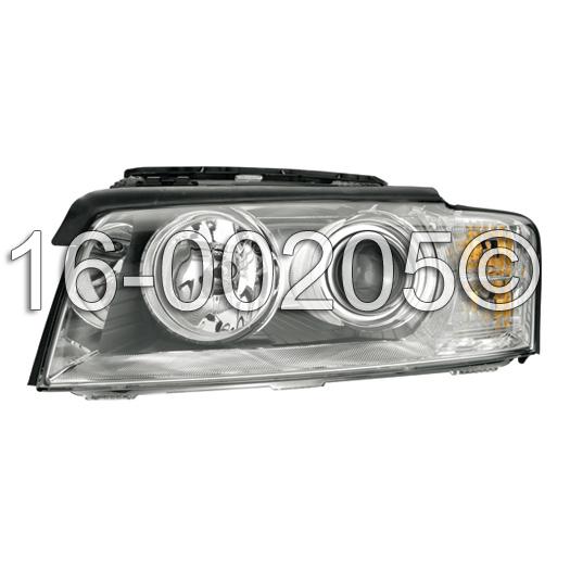 Audi A8                             Headlight AssemblyHeadlight Assembly