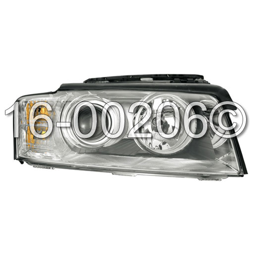 Audi A8                             Headlight Assembly