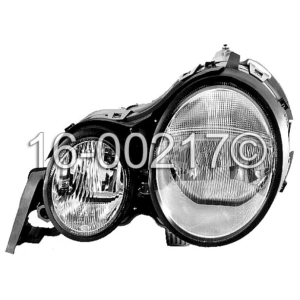 Mercedes_Benz E430                           Headlight AssemblyHeadlight Assembly
