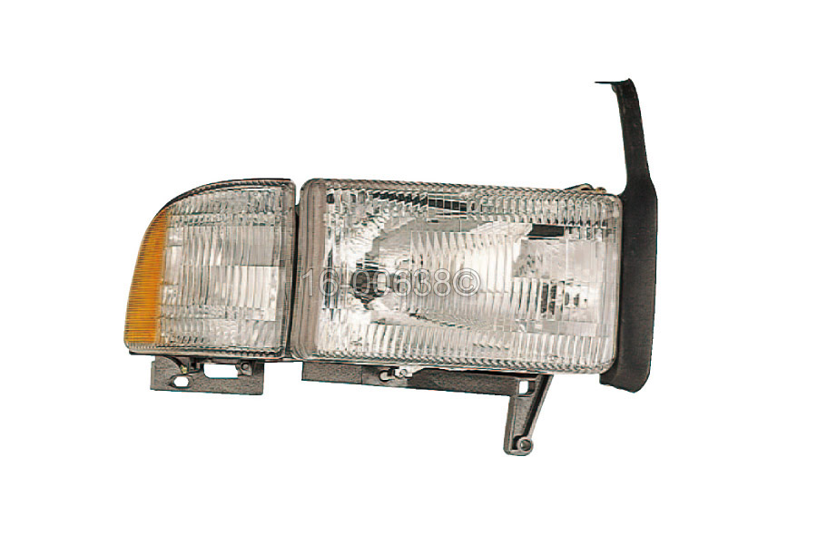 Dodge Ramcharger                     Headlight AssemblyHeadlight Assembly