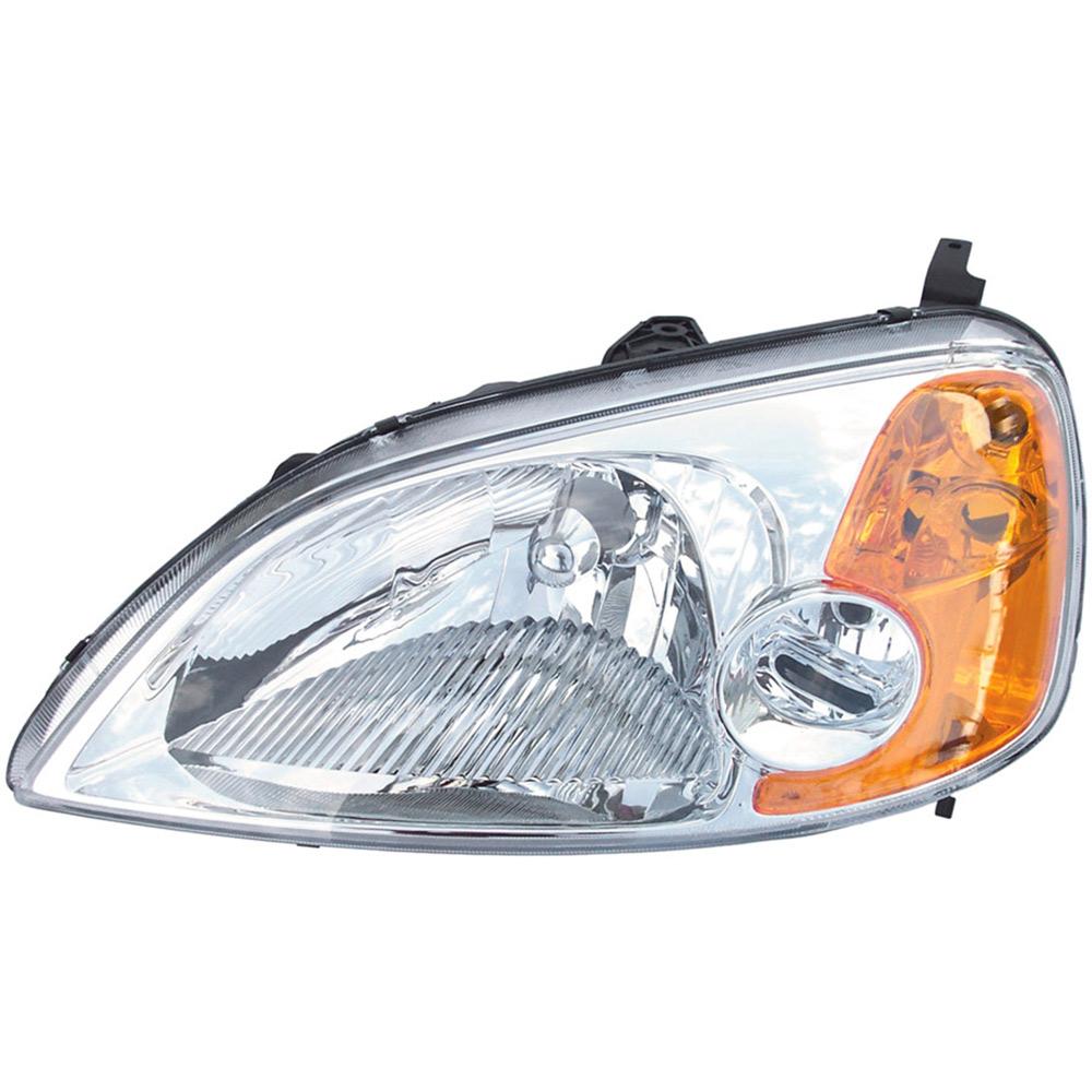 Honda Vehicle Headlights : Honda civic headlight assembly from car parts