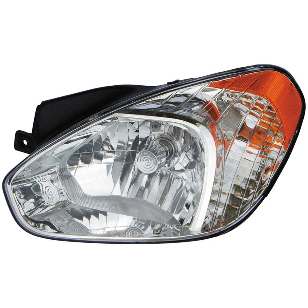 Hyundai Accent Headlight Assembly Right Passenger Side