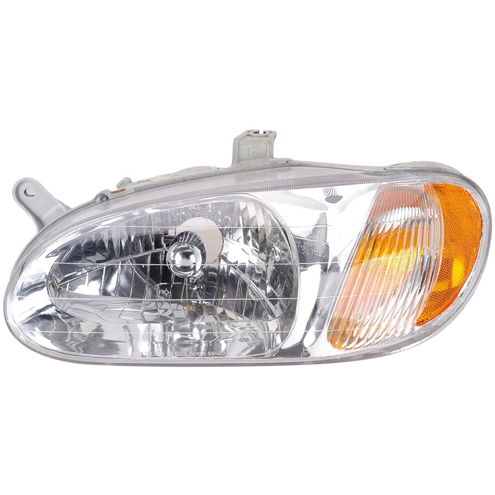 Kia Sephia                         Headlight AssemblyHeadlight Assembly