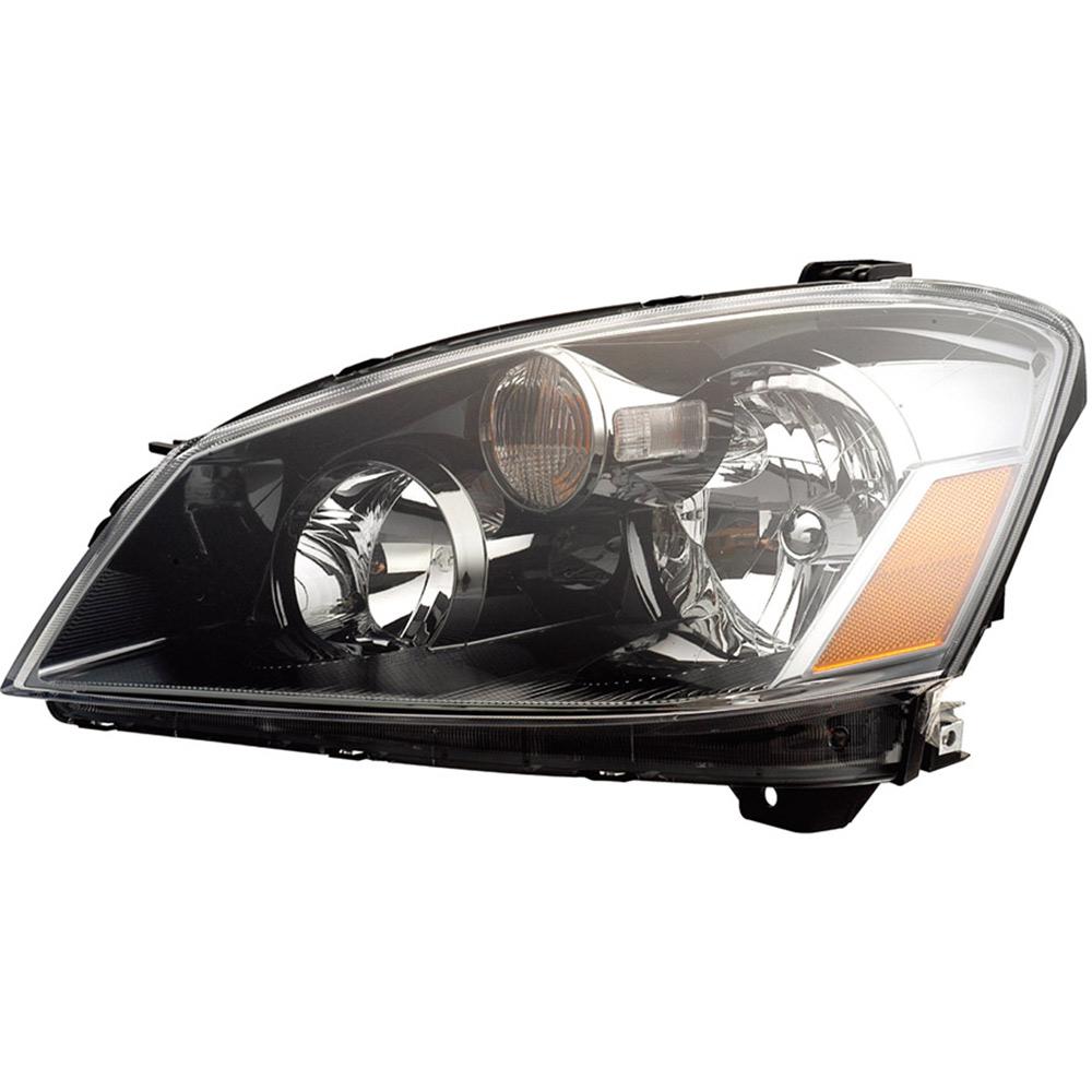 Nissan Headlamp Assembly : Nissan altima headlight assembly right passenger side