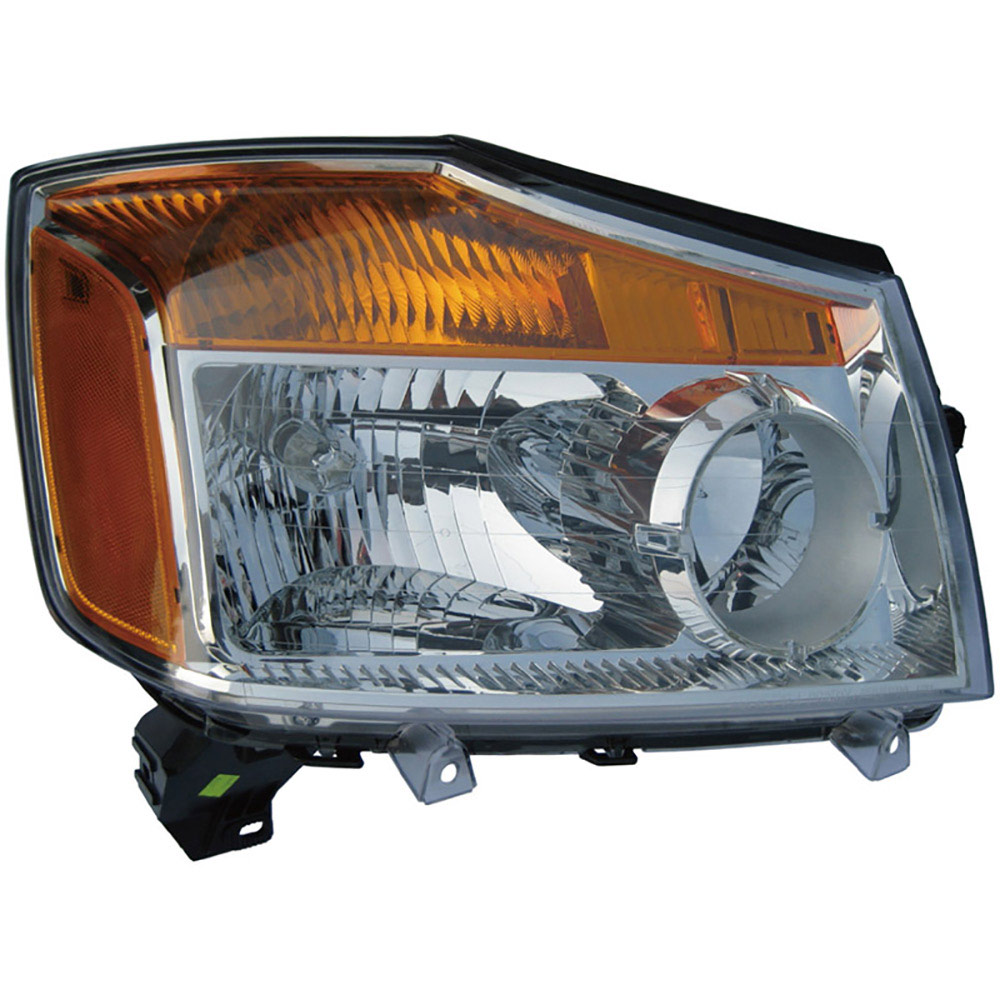 Nissan Titan                          Headlight AssemblyHeadlight Assembly