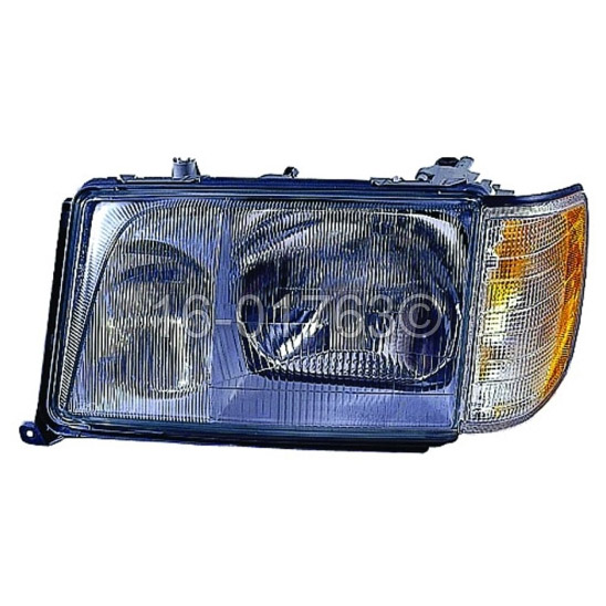 Mercedes_Benz E420                           Headlight Assembly