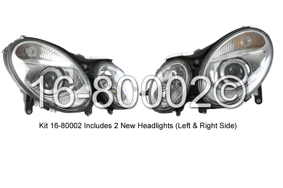 Mercedes_Benz E320                           Headlight Assembly PairHeadlight Assembly Pair