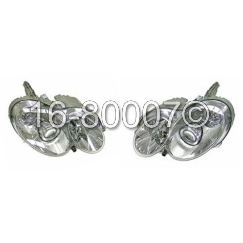 Mercedes_Benz C55 AMG                        Headlight Assembly Pair