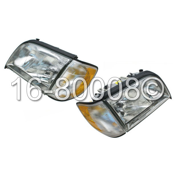 Mercedes_Benz S320                           Headlight SetHeadlight Set