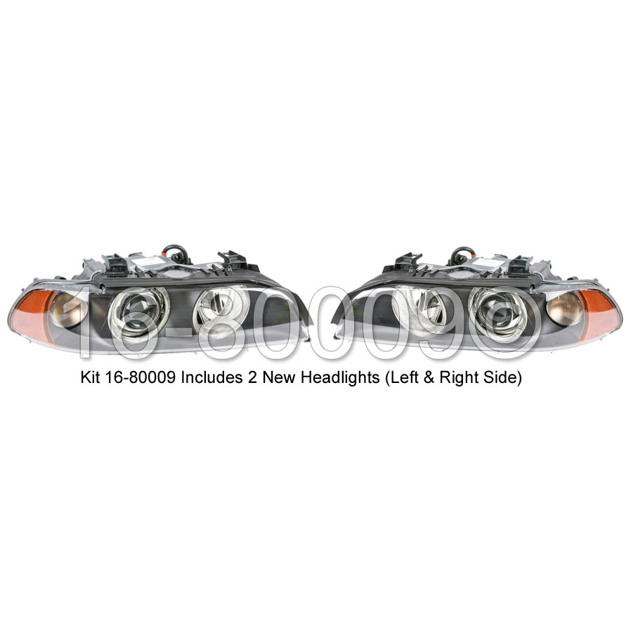 BMW 525                            Headlight Assembly PairHeadlight Assembly Pair