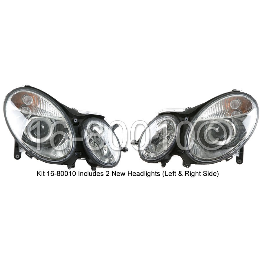 Mercedes_Benz E500                           Headlight Assembly PairHeadlight Assembly Pair