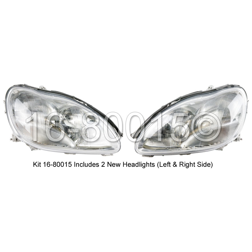 Mercedes_Benz S430                           Headlight Assembly PairHeadlight Assembly Pair