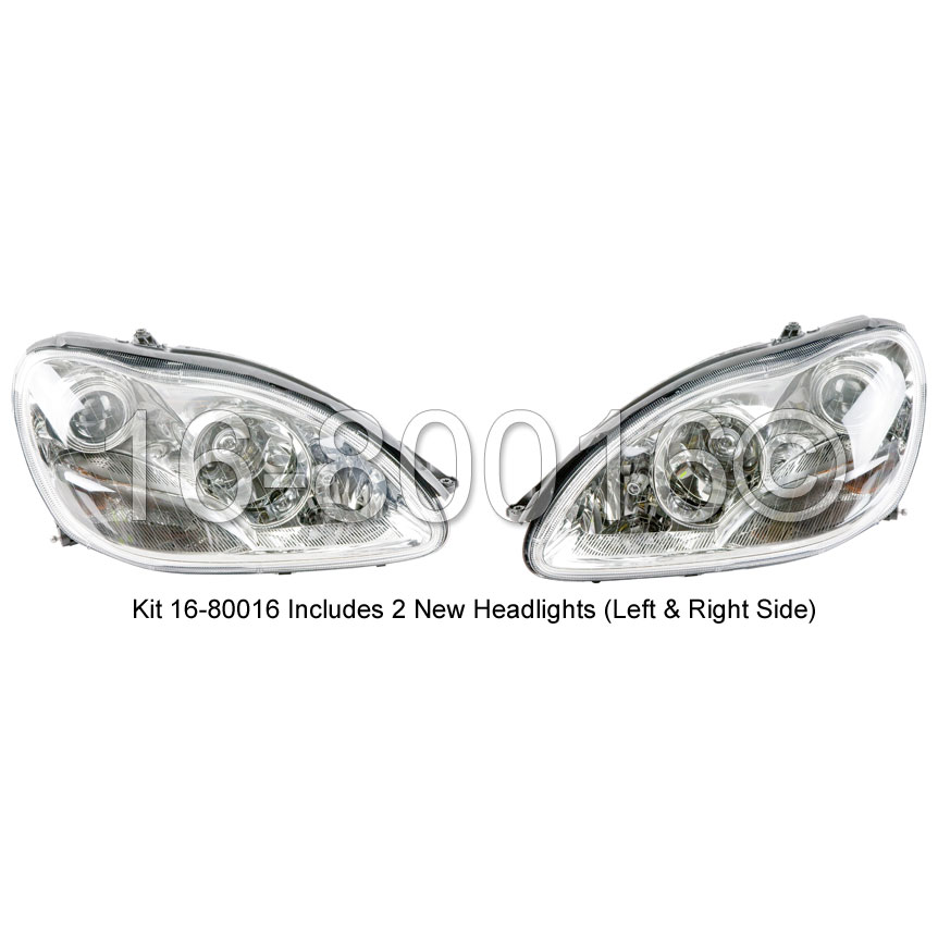 Mercedes_Benz S55 AMG                        Headlight SetHeadlight Set